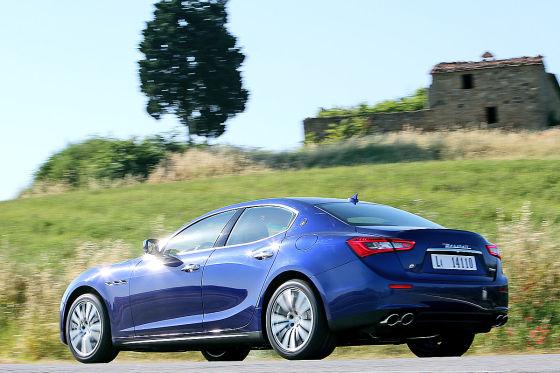 Maserati auf der Seidenstraße