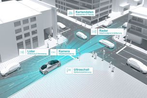 Daimler und Bosch fahren autonom