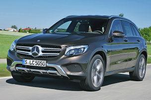 So f�hrt der neue Mercedes GLC