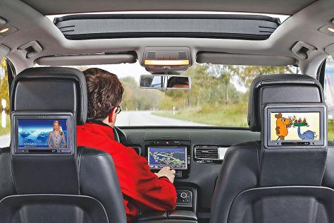TV im Auto