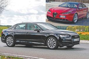 Neuer Audi A4 trifft neue Giulia