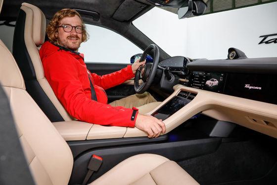 Ausblick auf den E-Porsche