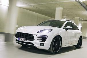 Porsche mit sattem Sound