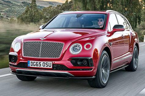 Bentley Bentayga 2015 Fahrbericht Autobild De