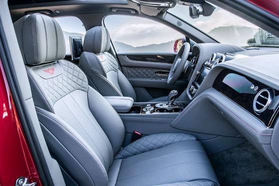 Bentley Bentayga SUV Prototyp