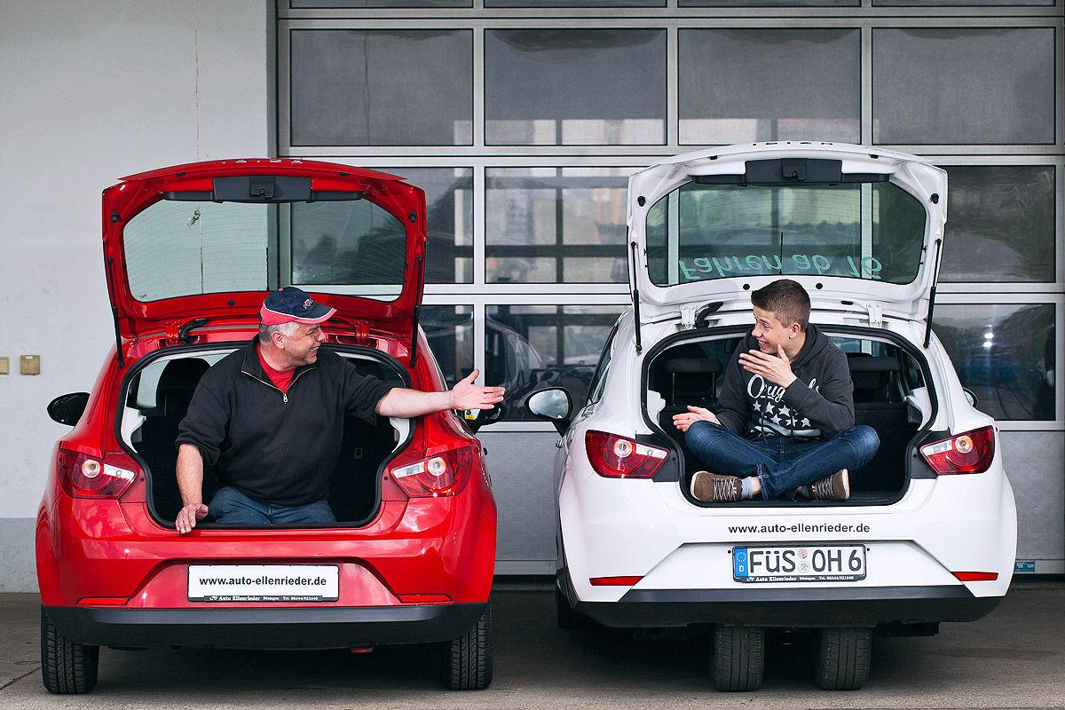 Seat Ibiza mit A1-Führerschein