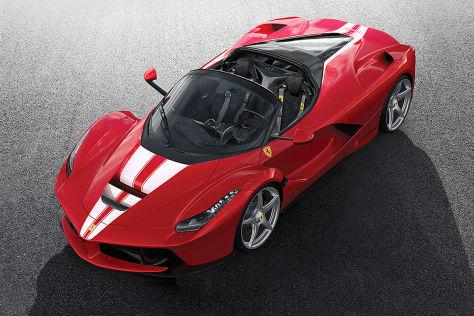 Ferrari Laferrari Letzter Aperta Erzielt Rekordpreis Autobildde