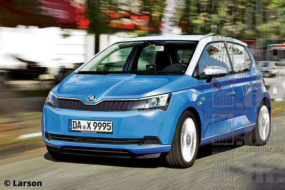 Skoda E-Citigo Illustration
