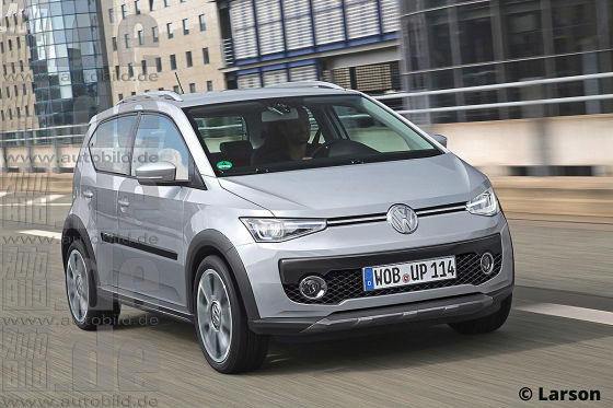 VW Up SUV Illustration