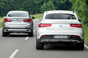 Neues GLE Coupé fordert X6