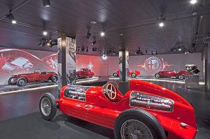 Alfa öffnet das Museum