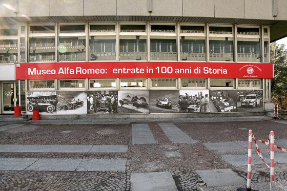 Alfa macht das Museum fit