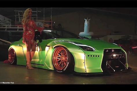 """Nissan GT-R von Mareike Fox: ein Nissan namens """"Zilla ..."""