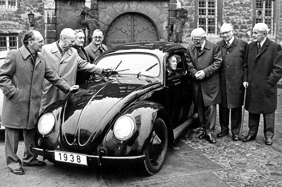 Der Käfer wird 80