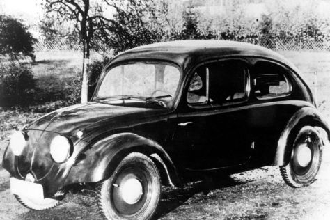 vw k fer vorstellung des ersten ur k fer prototyps 1935. Black Bedroom Furniture Sets. Home Design Ideas