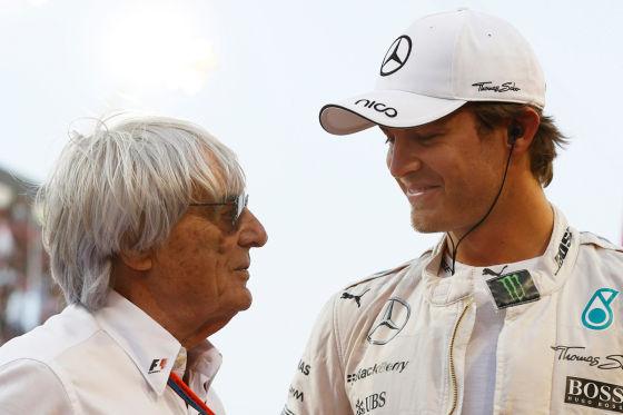 Ecclestone & Rosberg