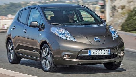 Nissan Leaf: Neue Batterie