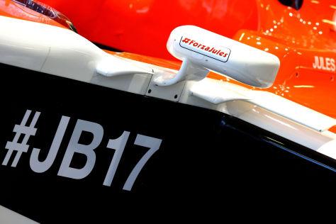 Jules Bianchis Zustand ist neun Monate nach dem Unfall unverändert
