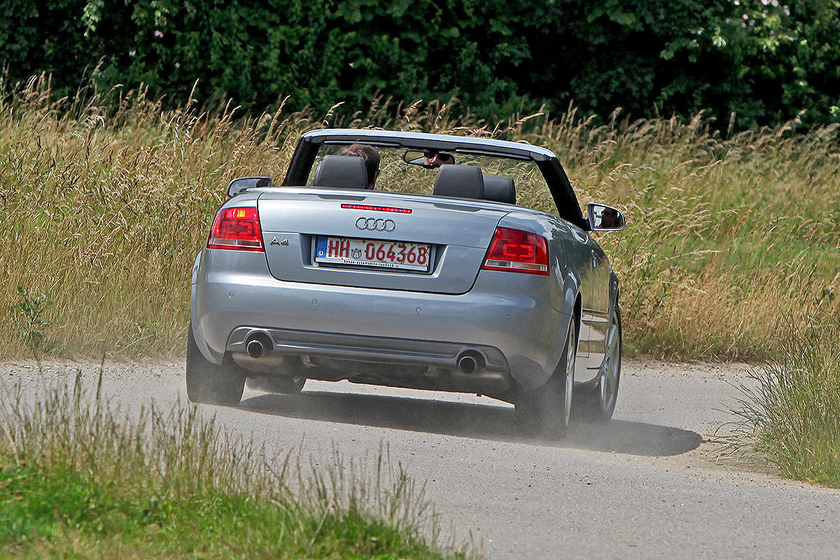 Audi A4 2.0 TFSI Cabrio