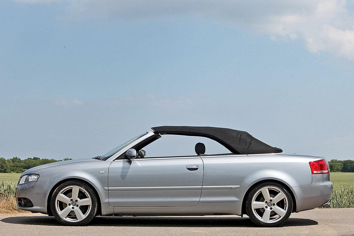 Gebrauchtes Audi A4 Cabrio B7 Im Test Bilder Autobildde