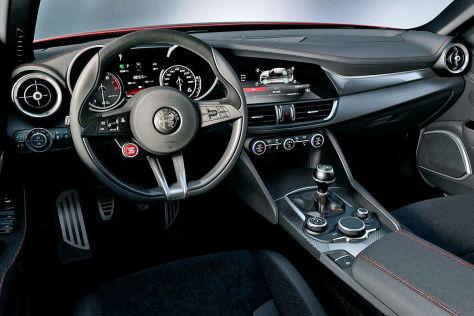 Alfa Romeo Los Angeles >> Alfa Romeo Giulia: Erster Check und erstes Cockpit-Bild - autobild.de