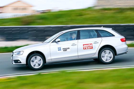 ZF-Praxistest 2015 Audi A4
