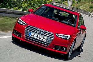 So f�hrt der neue Audi A4
