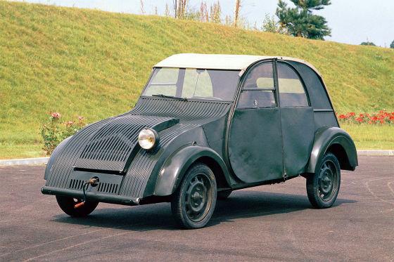 70 Jahre Citroën 2CV