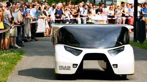 Stella Lux: Solarmobil aus Eindhoven