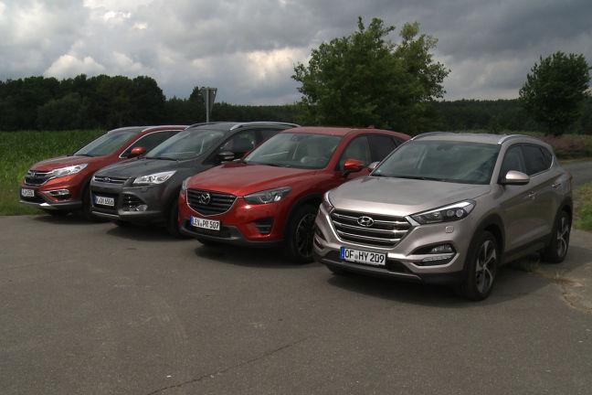 Video: Kompakte SUV (2015) - autobild.de