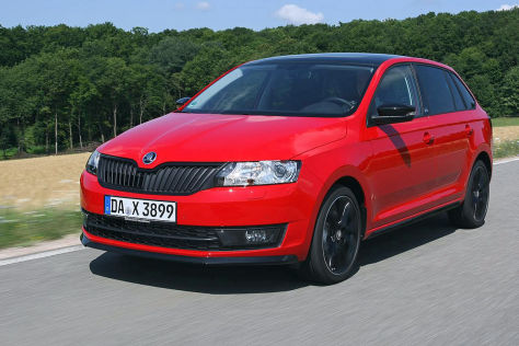 Skoda Rapid Spaceback Monte Carlo Facelift 2015 ...