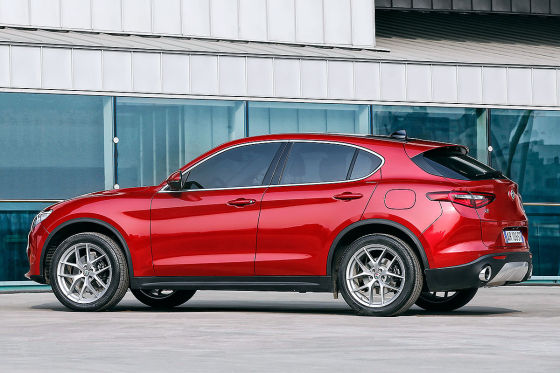 Alfa Romeo Stelvio Illustration