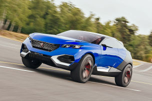 Peugeots Zukunft kommt in Fahrt