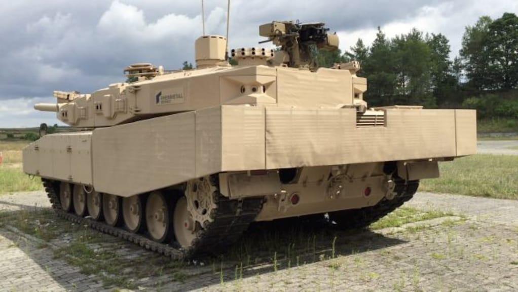 Leopard 2 Nachfolger in Erprobung