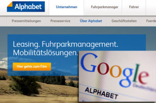 Alphabet.com gehört BMW