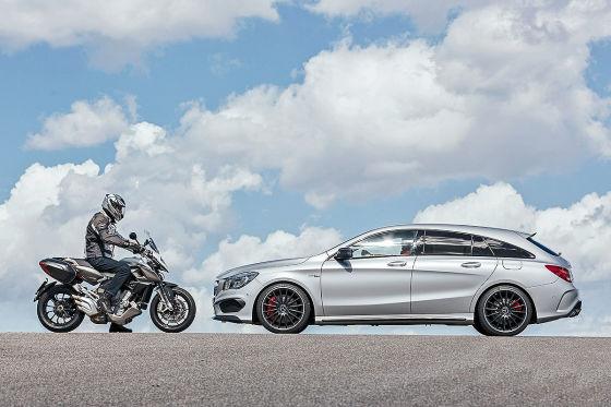 MV Agusta Mercedes CLA Shooting Brake