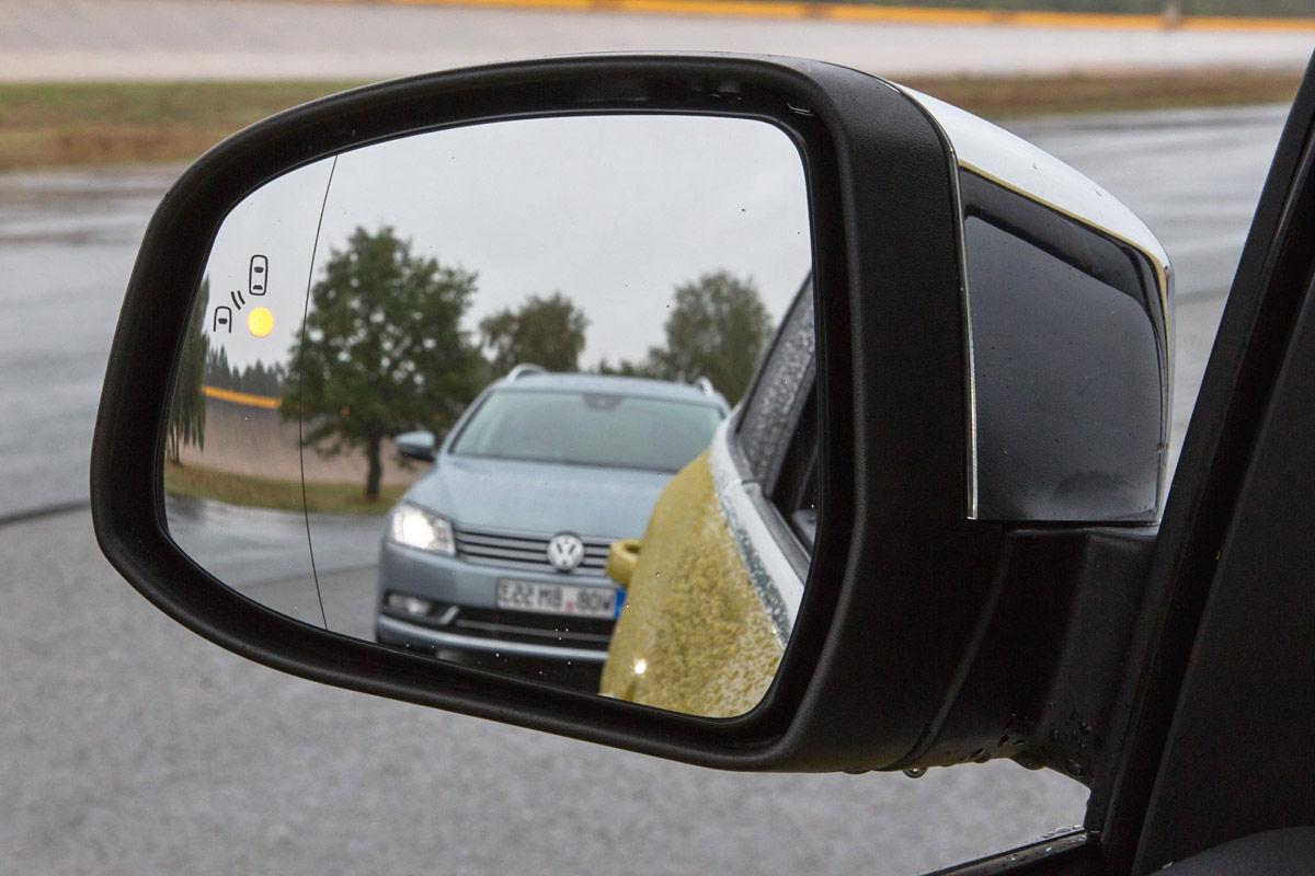 Kameras statt Außenspiegel