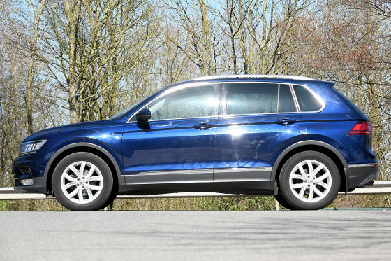 vw tiguan ii gebrauchtwagen test. Black Bedroom Furniture Sets. Home Design Ideas
