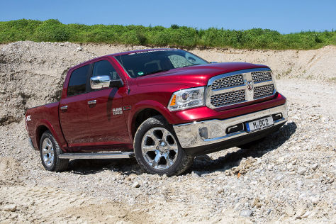 Diesel Pick Up Im Test Dodge Ram 1500 Crewcab Autobildde