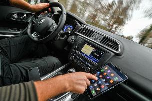Auch Tablets im Auto bald tabu?