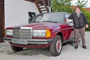 30 Jahre alter 240 D als Neuwagen