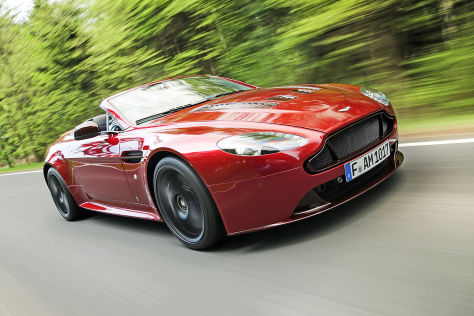 Aston Martin V12 Vantage S Roadster Fahrbericht Autobild De