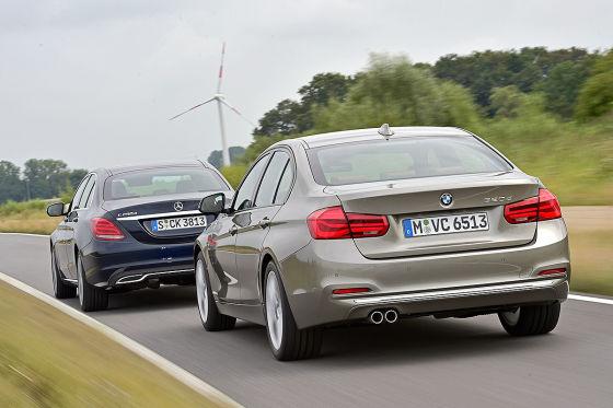 BMW 3er Mercedes C-Klasse
