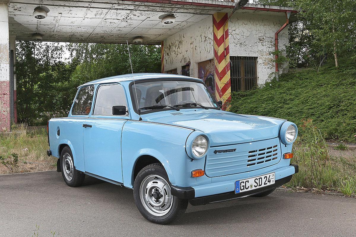 Die Autos der deutschen Einheit