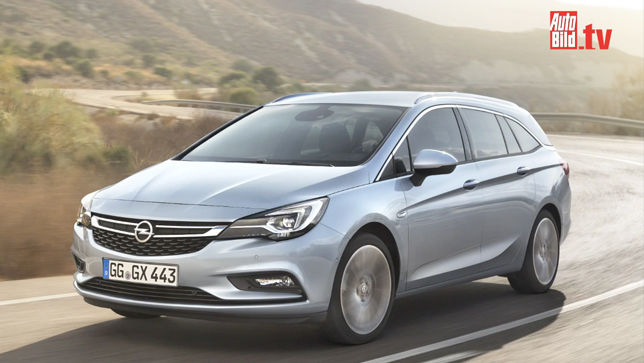 Video Opel Astra Sports Tourer 2015 Autobild De