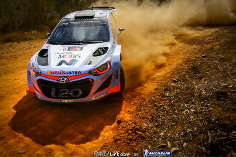 Michelin Rallye Australien Hyundai