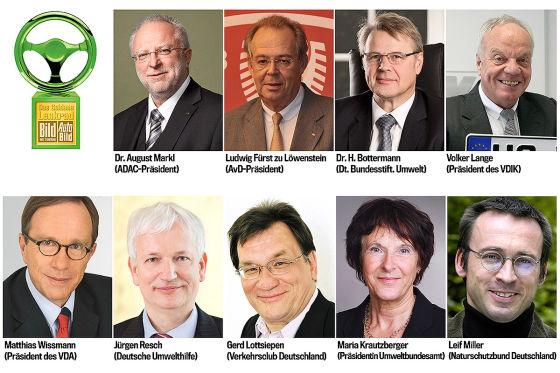 Grünes Lenkrad 2015 Jury