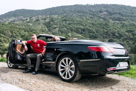 mercedes-benz s 500 cabriolet (2016) im test: fahrbericht - autobild.de