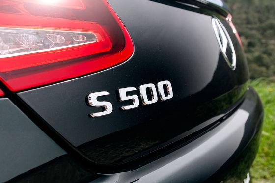 Mercedes S-Klasse Cabrio