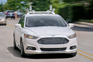 Ford k�ndigt autonome Autos an